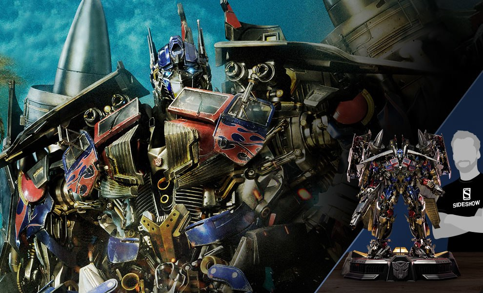 Gallery Feature Image of Jetpower Optimus Prime Statue - Click to open image gallery