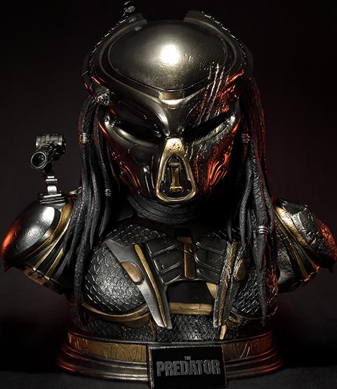 Prime 1 Studio Fugitive Predator Deluxe Version Life-Size Bust