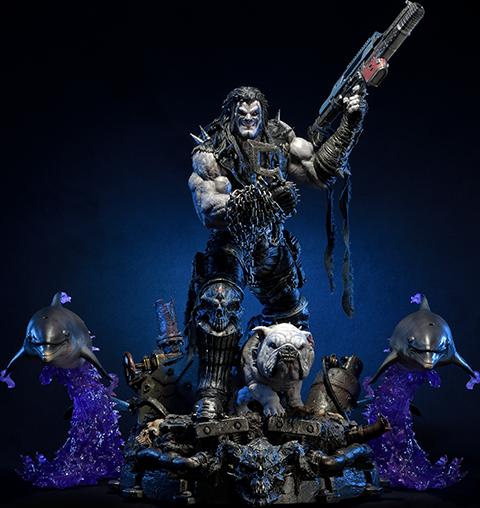 Prime 1 Studio Lobo Deluxe Statue