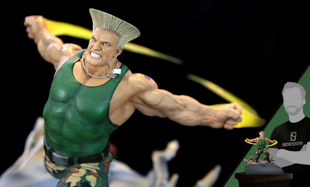 Gallery Feature Image of Guile Diorama - Click to open image gallery
