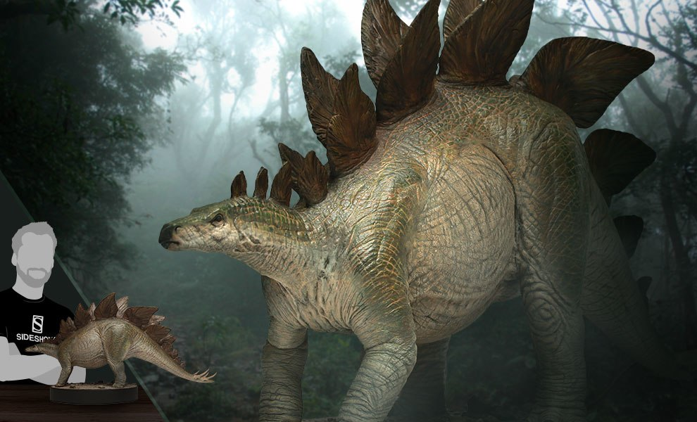 Gallery Feature Image of Stegosaurus Maquette - Click to open image gallery