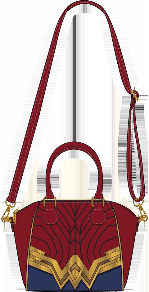 Loungefly Wonder Woman Crossbody Bag Apparel