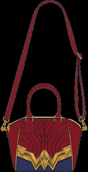 Wonder Woman Crossbody Bag Apparel