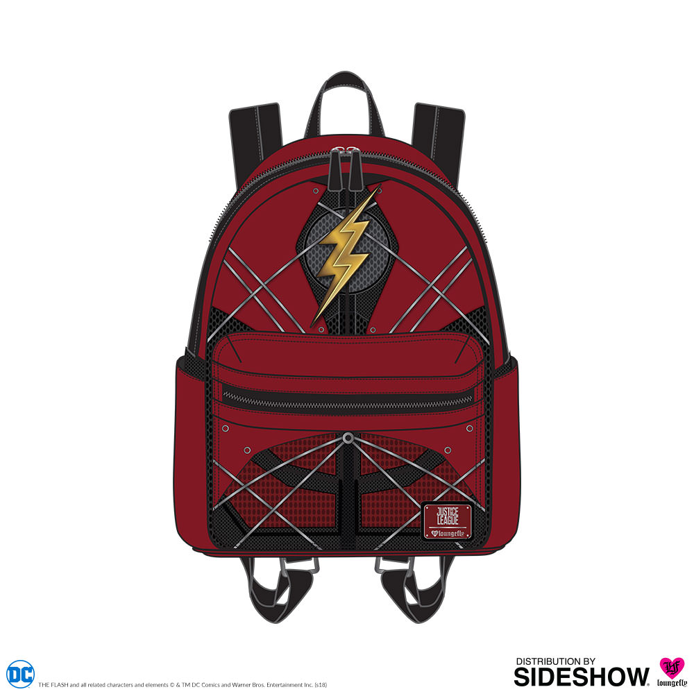 3ad7a87af2 DC Comics The Flash Mini Backpack Apparel by Loungefly