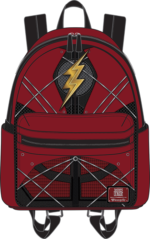 Loungefly The Flash Mini Backpack Apparel