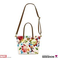 Gallery Image of Captain Marvel Leather Tote Bag Apparel