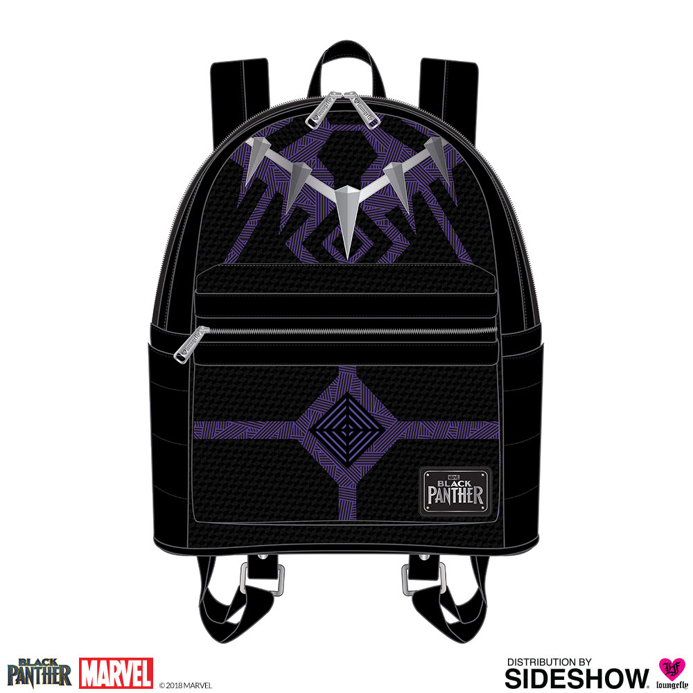 Marvel Black Panther Mini Backpack Apparel by Loungefly  37b12fd8de651