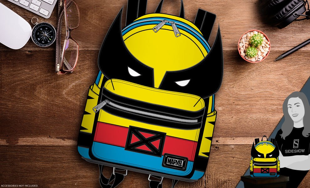 Gallery Feature Image of Wolverine Mini Backpack Apparel - Click to open image gallery