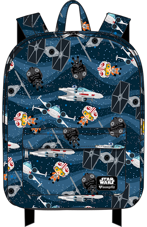 Loungefly X-Wing and TIE Fighter Backpack Apparel