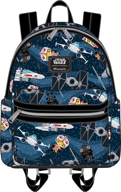 Loungefly X-Wing and TIE Fighter Mini Backpack Apparel