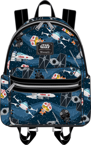 X-Wing and TIE Fighter Mini Backpack Apparel