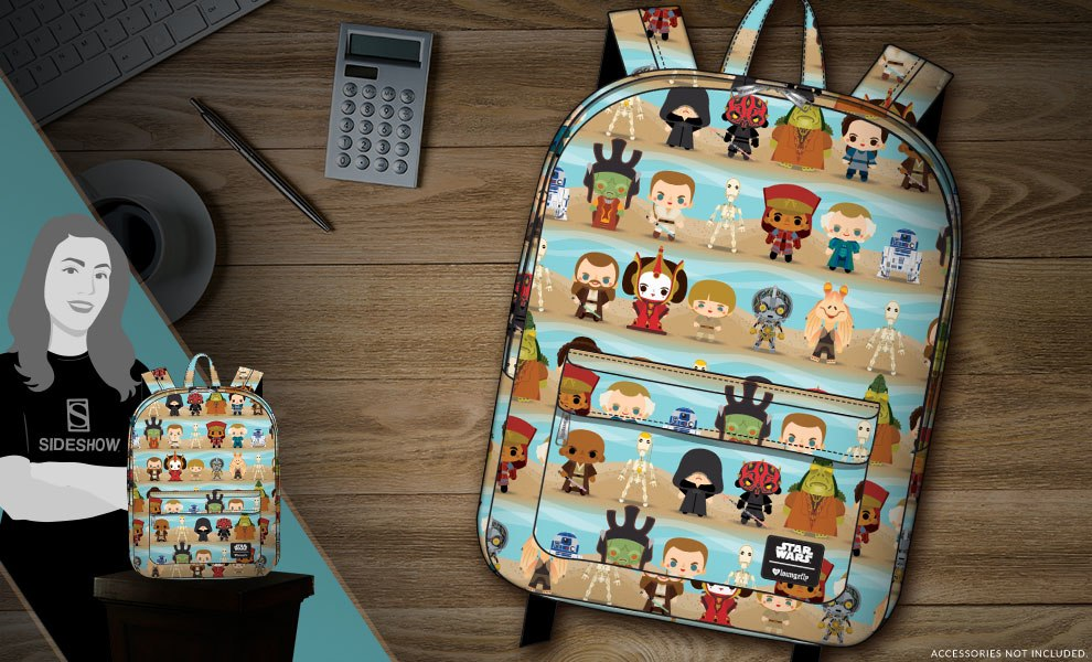 Gallery Feature Image of Phantom Menace Backpack Apparel - Click to open image gallery
