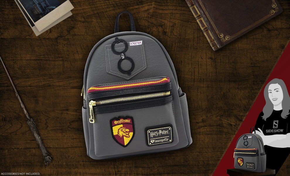 Gallery Feature Image of Harry Potter Mini Backpack Apparel - Click to open image gallery