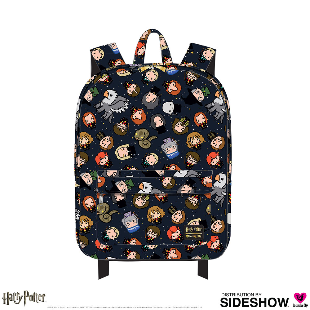 a1732563c5f Harry Potter Chibi Print Backpack Apparel by Loungefly