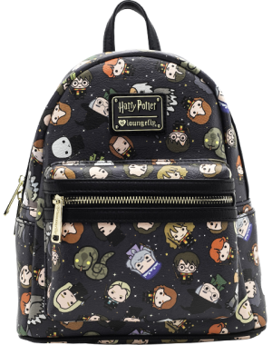 Harry Potter Chibi Print Mini Backpack Apparel
