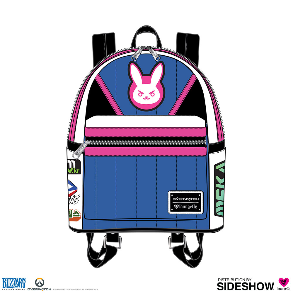 6d696ba03ca Overwatch DVa Mini Backpack Apparel by Loungefly