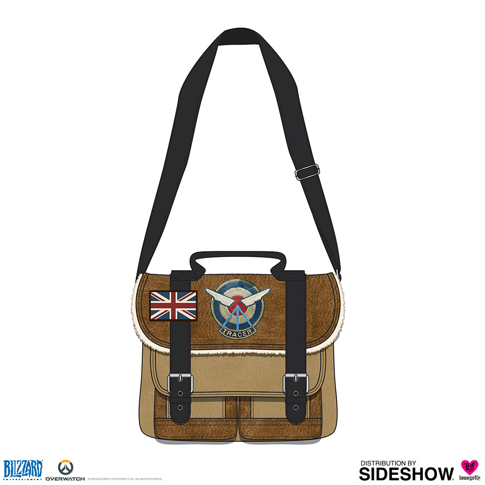 11706dc7668 Overwatch Tracer Crossbody Bag Apparel by Loungefly