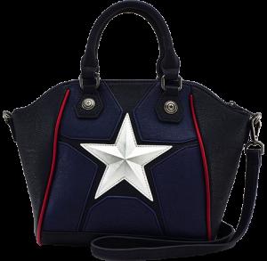 Captain America Cosplay Crossbody Bag Apparel