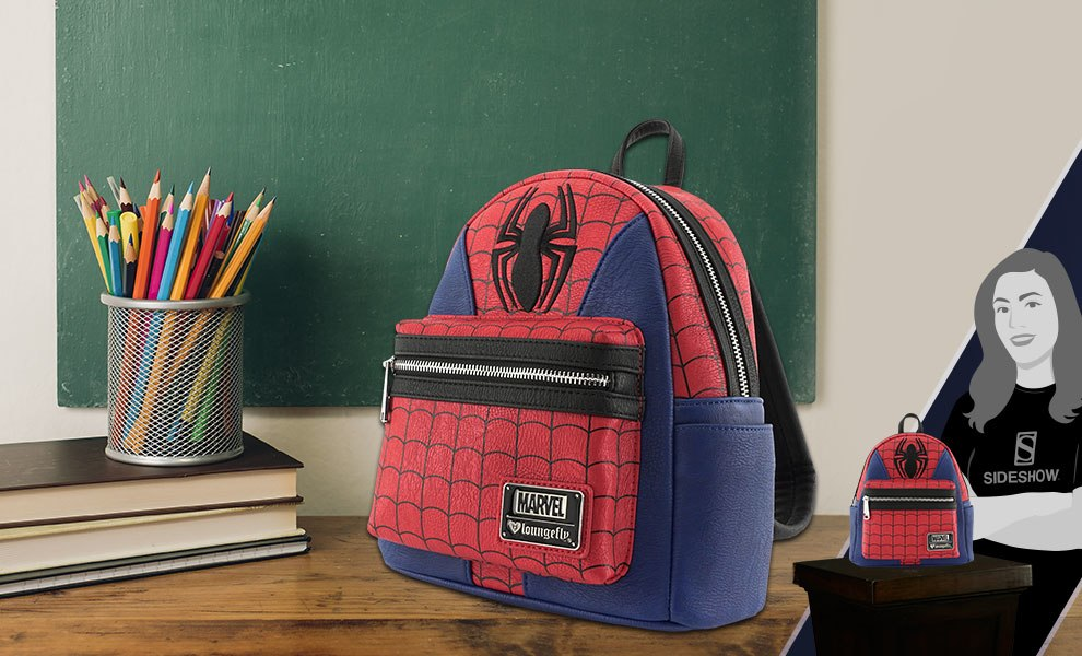 Gallery Feature Image of Spider-Man Suit Mini Backpack Apparel - Click to open image gallery