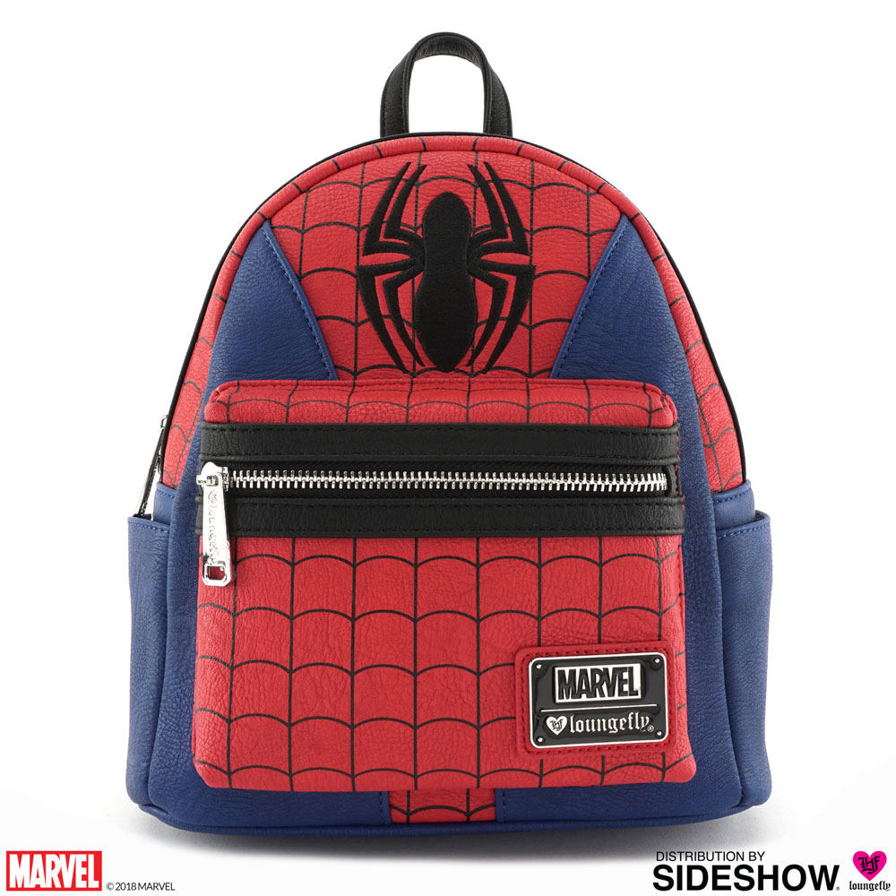 Marvel Spider-Man Suit Mini Backpack Apparel by Loungefly  af3a56bcc8d4c