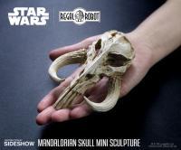 Gallery Image of Mandalorian Skull Mini Sculpture Statue