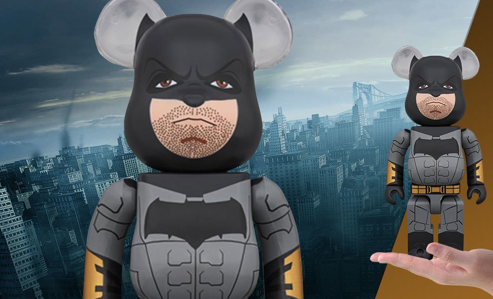 Gallery Feature Image of Bearbrick Batman Justice League Version 400 Figure - Click to open image gallery