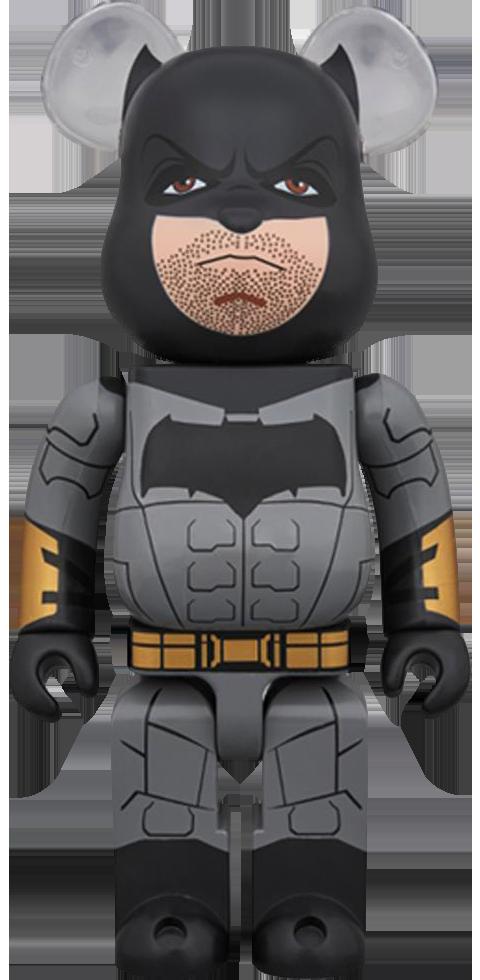 Medicom Toy Bearbrick Batman Justice League Version 400 Figure