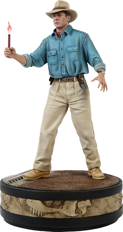 Chronicle Collectibles Alan Grant Statue