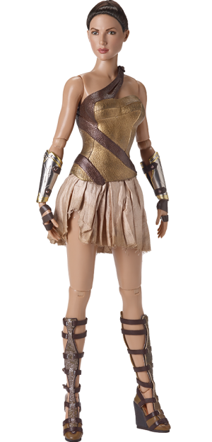 Wonder Woman Training Armor Doll