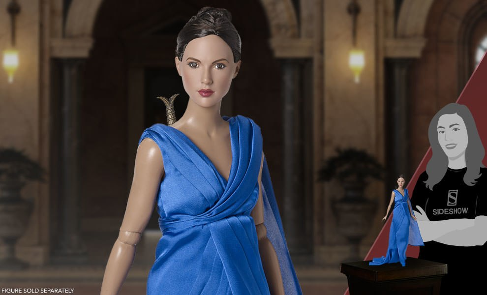 Gallery Feature Image of Wonder Woman Gala Gown Doll Outfit - Click to open image gallery