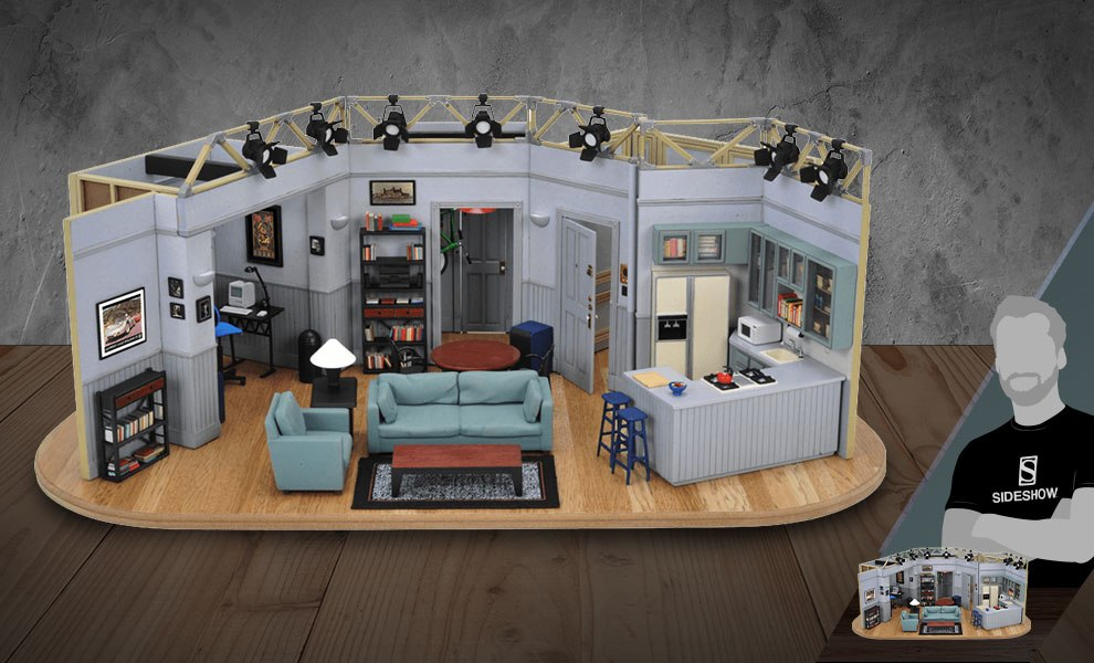 Gallery Feature Image of Seinfeld Set Scaled Replica - Click to open image gallery