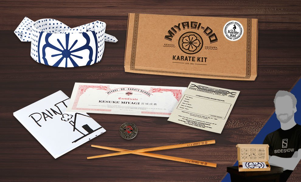 Gallery Feature Image of The Karate Kid Miyagi Do Karate Kit Collectible Set - Click to open image gallery