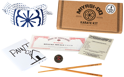 Icon Heroes The Karate Kid Miyagi Do Karate Kit Collectible Set