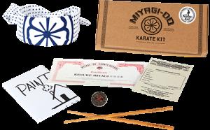 The Karate Kid Miyagi Do Karate Kit Collectible Set