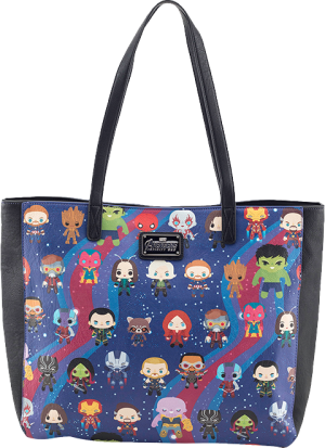 Avengers Infinity War Kawaii Print Tote Bag Apparel