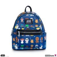 Gallery Image of Star Wars Baby Character Print Mini Backpack Apparel