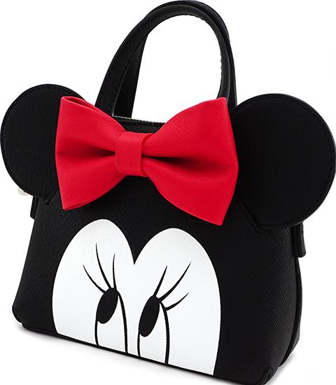 Loungefly Minnie Eyes Micro Dome Crossbody Bag Apparel