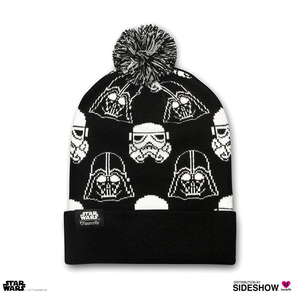 2a5cfc92ca5acf Star Wars Darth Vader Stormtrooper Black & White Beanie   Sideshow ...