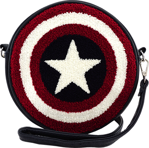 Loungefly Captain America Shield Crossbody Bag Apparel