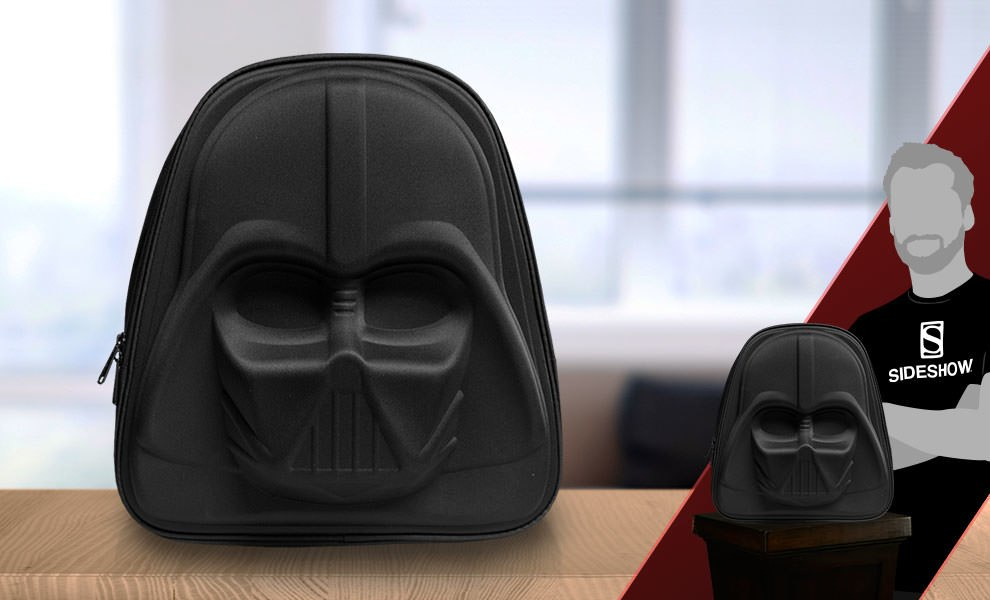 Gallery Feature Image of Darth Vader 3D Molded Nylon Backpack Apparel - Click to open image gallery