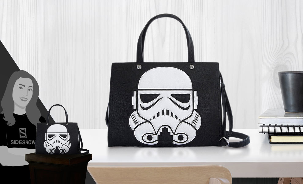 Gallery Feature Image of Laser Cut Stormtrooper Duffle Bag Apparel - Click to open image gallery