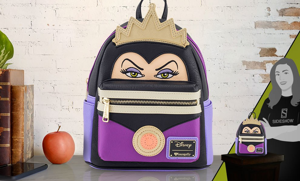 Gallery Feature Image of Evil Queen Mini Backpack Apparel - Click to open image gallery