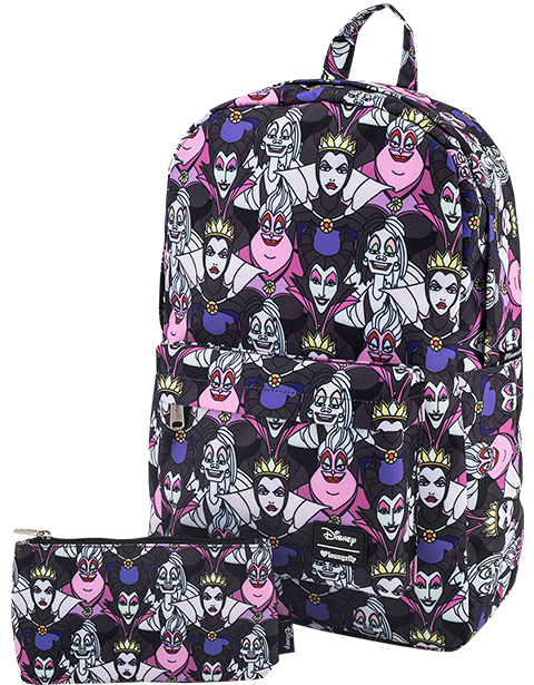 Loungefly Villains All Over Print Backpack Apparel