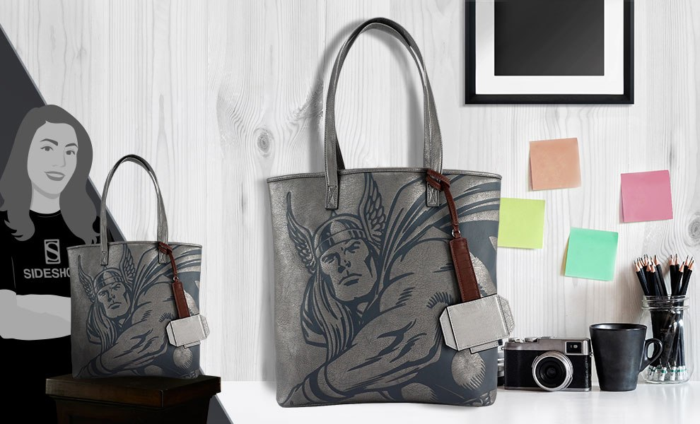 Gallery Feature Image of Thor Tote Bag Apparel - Click to open image gallery