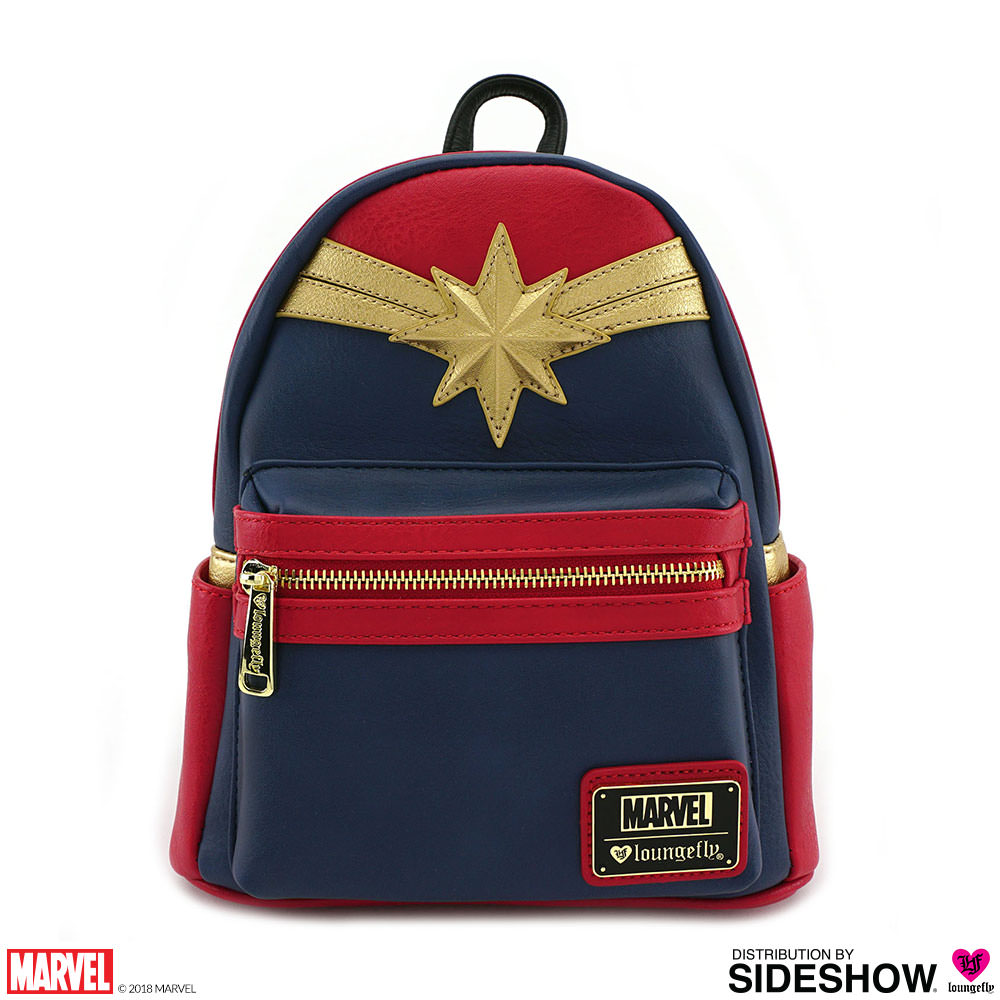536a606bed Captain Marvel Cosplay Mini Backpack by Loungefly | Sideshow ...