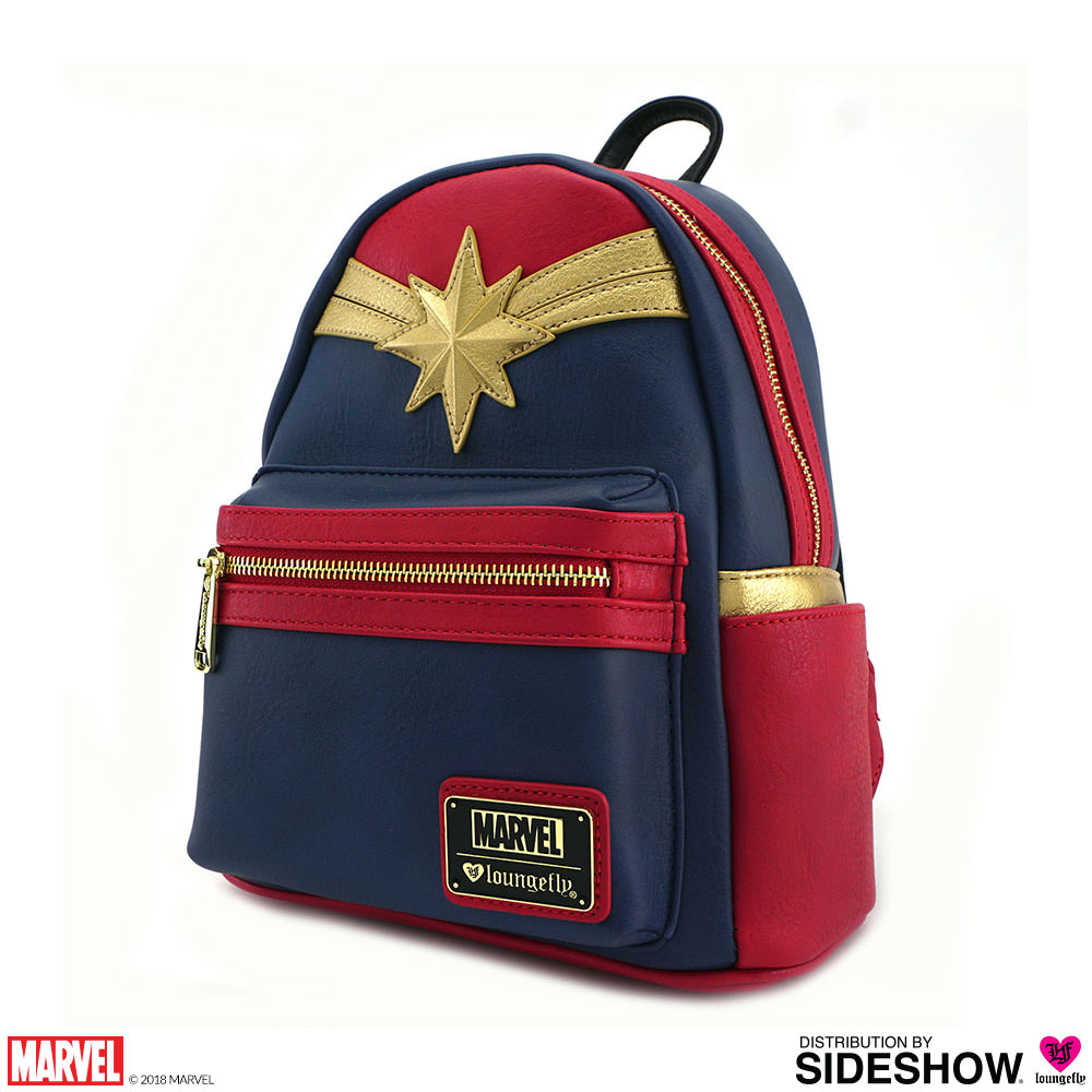 Captain Marvel Cosplay Mini Backpack - Prototype Shown d6985c884b9d9