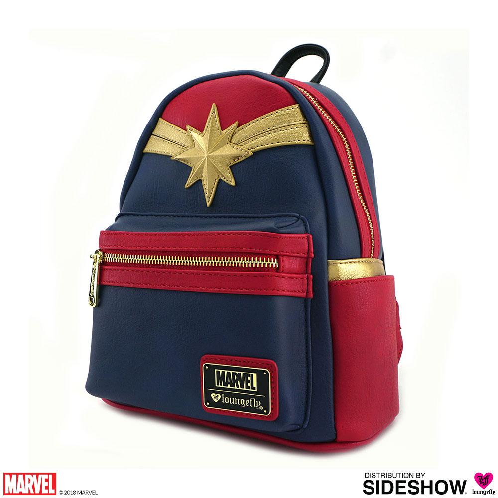 07738c93fbdb Captain Marvel Cosplay Mini Backpack - Prototype Shown
