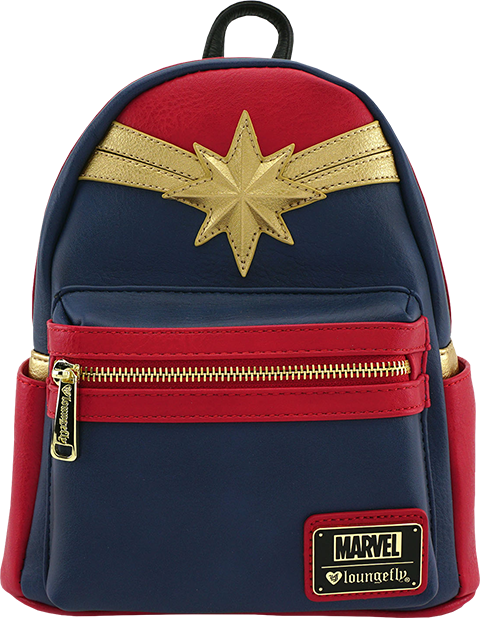 Loungefly Captain Marvel Cosplay Mini Backpack Apparel