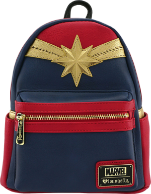 Captain Marvel Cosplay Mini Backpack Apparel