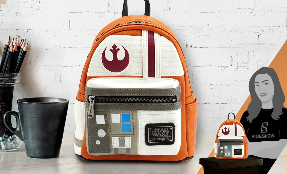 Gallery Feature Image of Star Wars Rebel Cosplay Mini Backpack Apparel - Click to open image gallery